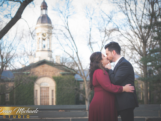 PRINCETON ENGAGEMENT |  BRITTANY & CLAUDIO