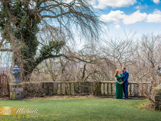 NEW JERSEY BOTANICAL GARDEN MATERNITY SESSION | LACY & MARLON