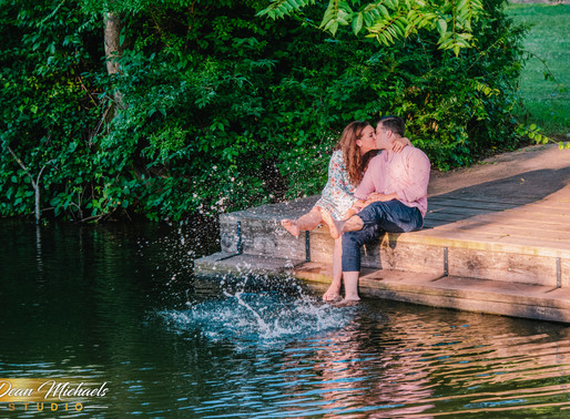 COLONIAL PARK ENGAGEMENT | KATIE & JONATHAN