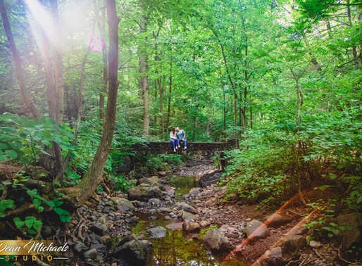 SOUTH MOUNTAIN RESERVATION ENGAGEMENT | KELLY  & RICARDO