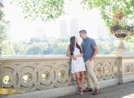 NYC ENGAGEMENT | CARRIE & PAULO