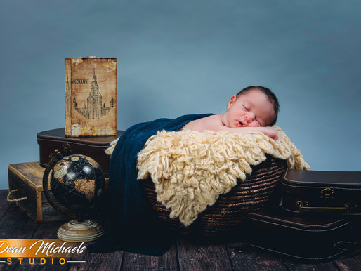 NEWBORN SESSION | BABY ANDREW
