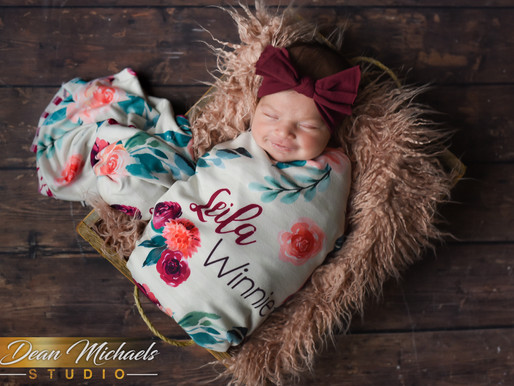NEWBORN SESSION | BABY LEILA