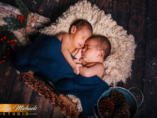 NEWBORN SESSION | BABY ETHAN & NATHANIEL
