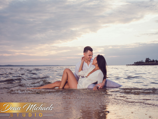 RED BANK - SANDY HOOK ENGAGEMENT | CHRISTIN & ALEC