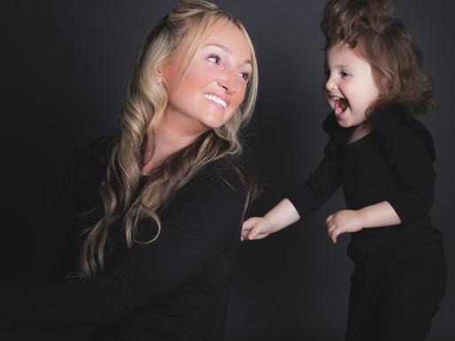 MOMMY & ME SESSION | AMANDA & GIULIANNA