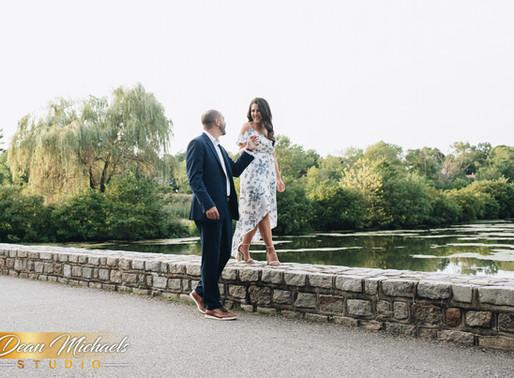VERONA PARK ENGAGEMENT | DANIELLE & ANTHONY