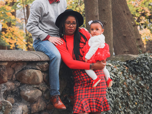 FAMILY CHRISTMAS PORTRAIT | GRACE, ALEX & CHARLIE