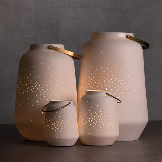 Porcelain Light Lanterns