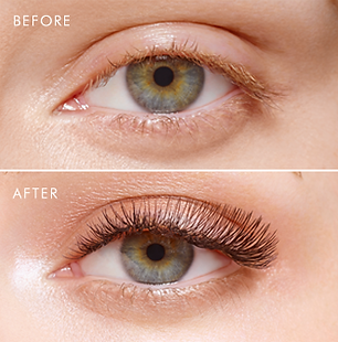 Before & After Express Lashes