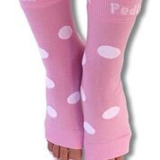 Pedi-Sox / Pink Polkadot California Weight