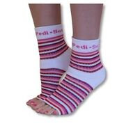 Pedi-Sox / Pink Stripe Original