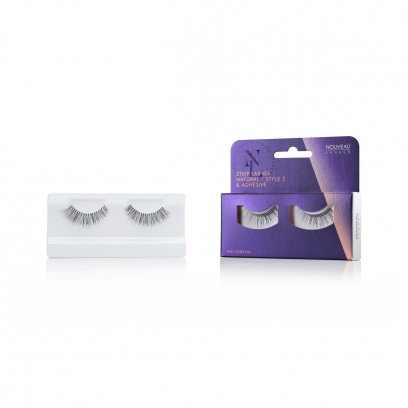 Nouveau Lashes Strip Lash Natural / Style 2