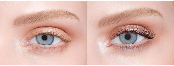 Before & After LVL Lashes