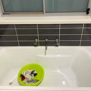 "Bath ""After"""