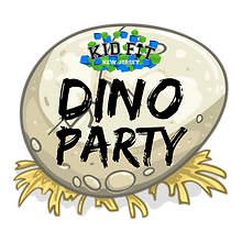 Dinosaur Party Kid Fit NJ