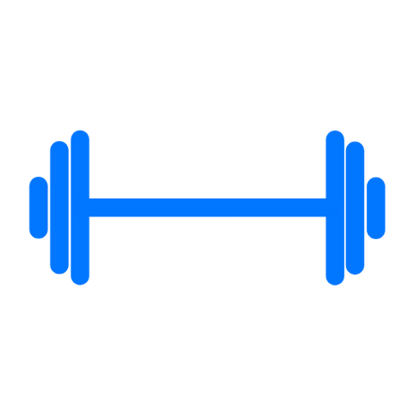 KID FIT LOGO - Blue_White Barbell.png