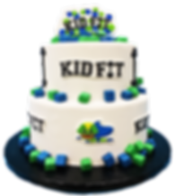 Kid Fit NJ Cake