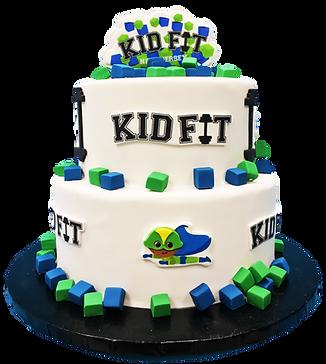 Kid Fit NJ Cake