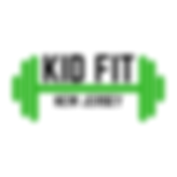 KID FIT LOGO - Green_Black Barbell.png