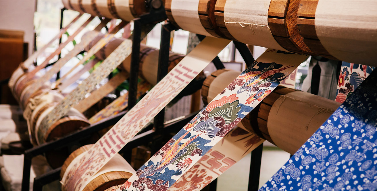 Kimono weaving