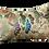 Thumbnail: Vintage Japanese silk obi embroidered cushion