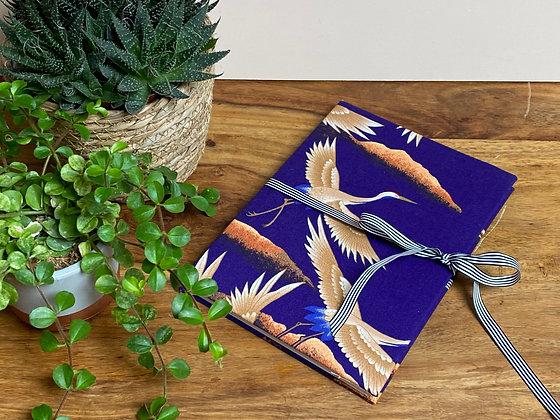 Vintage Kimono covered notebook