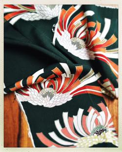 100% silk vintage kimono