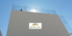 instalación de red perimetral cancha  from tenis