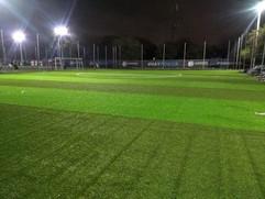 Instalación cancha futbol rápido