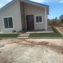 Instalación de Pasto  Sintético en áreas residenciales
