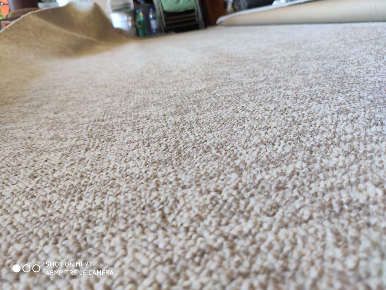 Instalación de alfombra