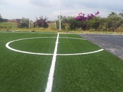 Instalación de cancha futbol  7