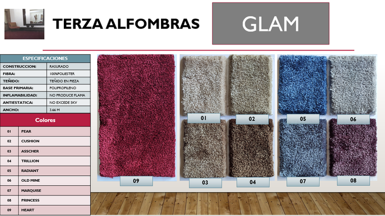 Terza glam