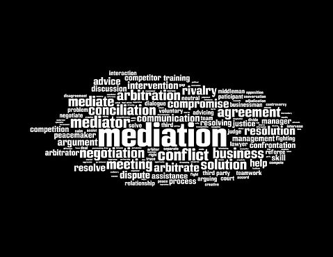 mediation words collection wht wrds blck