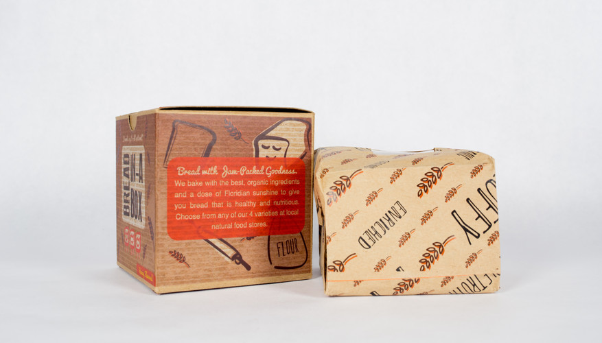 Right side Label and Wrapping