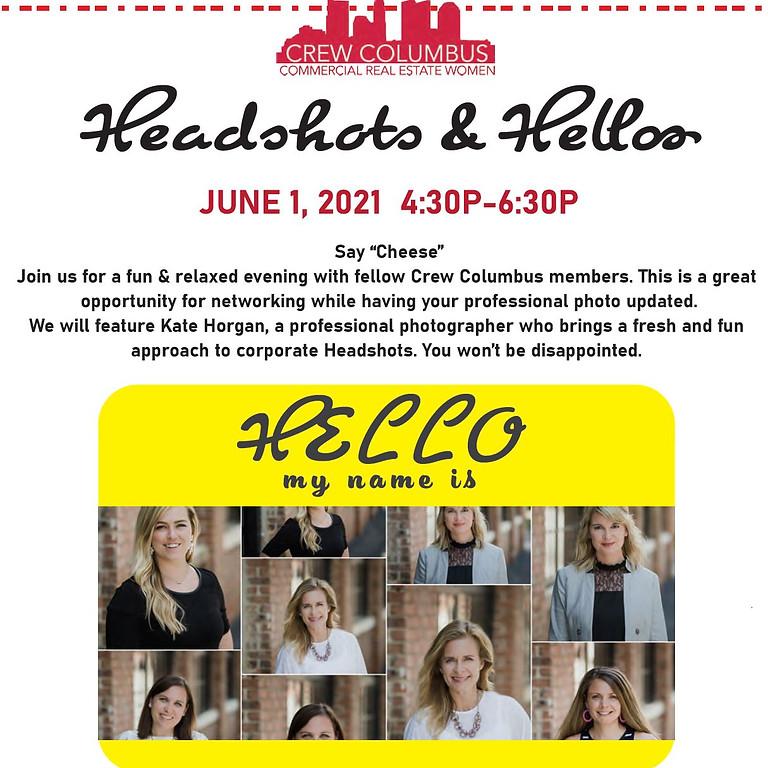 Headshots & Hellos