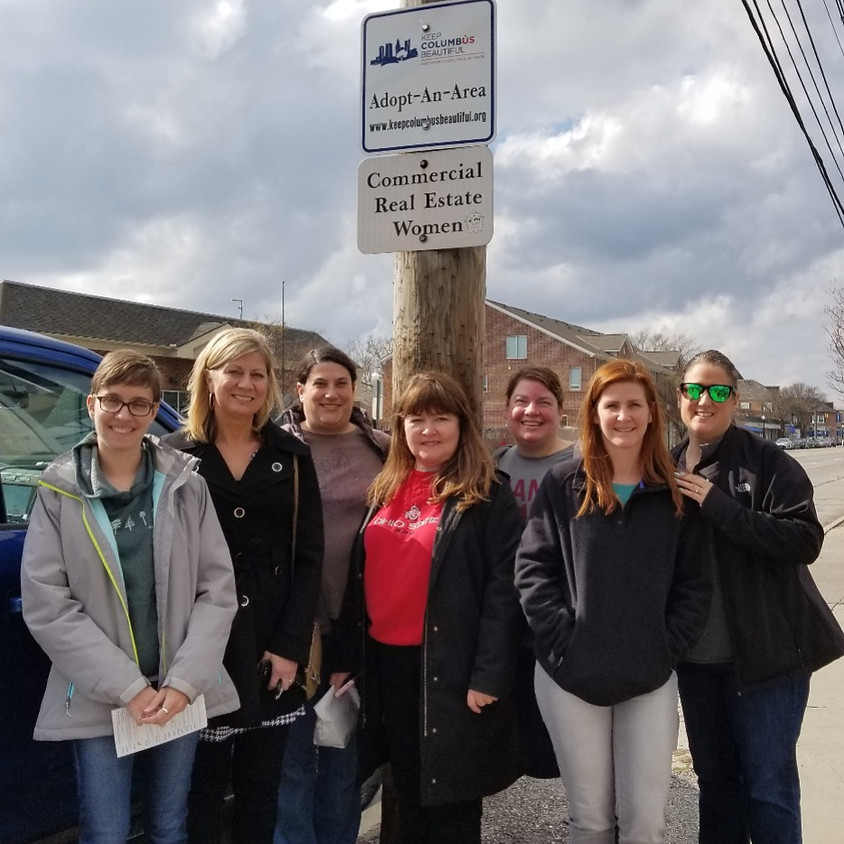 CHEERS to Community Outreach - Spring Clean Up & Happy Hour