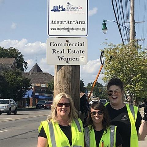 CREW Columbus Neighborhood Clean Up