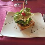 Déjeuner normand à Pont d'Ouilly