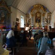 Introduction au concert par Patrick Bichet, membre du Conseil d'Administration des amis de Custine
