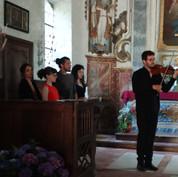 Xavier Sichel au violon