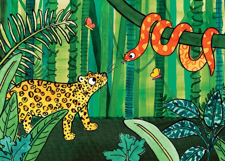 Jaguar in the Jungle