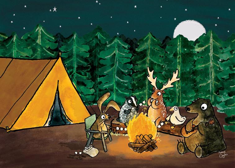 Marshmallow Camping Club