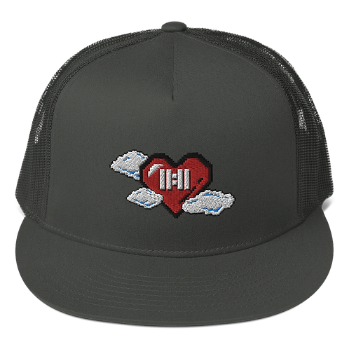 11|Eleven 8-bit 11UP Flat Bill Trucker Cap