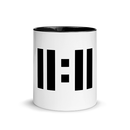 11|Eleven Black Logo Mug