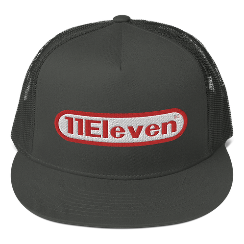 11|Eleven In the Beginning Flat Bill Trucker Cap
