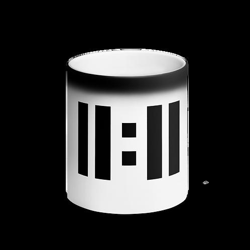 11|Eleven Black Logo Magic Coffee Mug