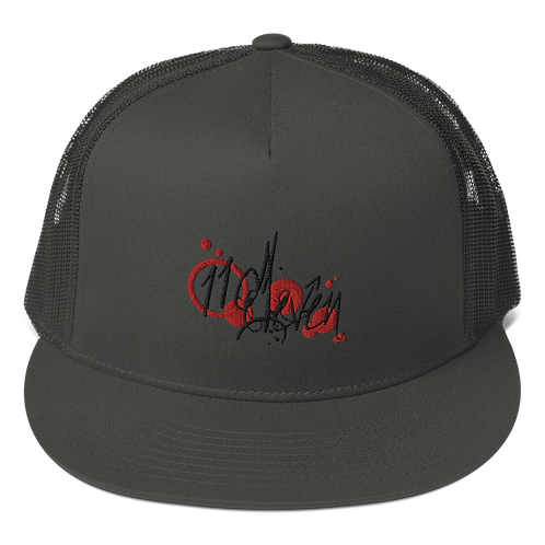 11|Eleven Street Logo Flat Bill Trucker Cap