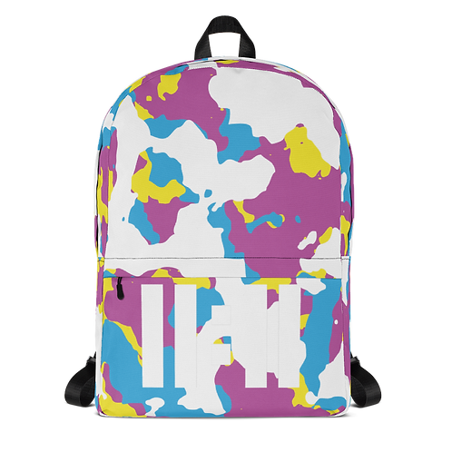 11|Eleven CYMK White Camo Backpack